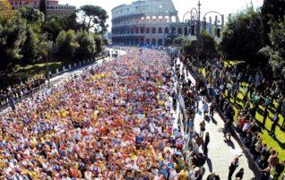 Record di maratoneti italiani nel 2016