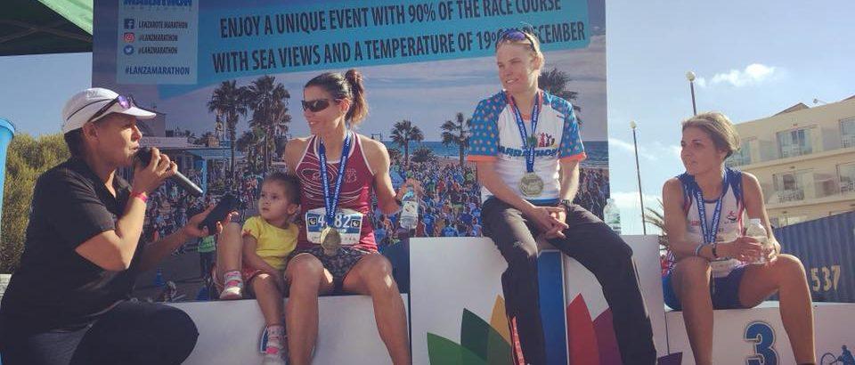 Strepitosa Elena Genemisi 3a alla maratona di Lanzarote