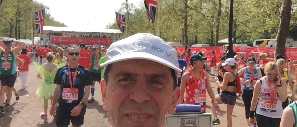 22 aprile 2018, Maratona di Londra, i risultati